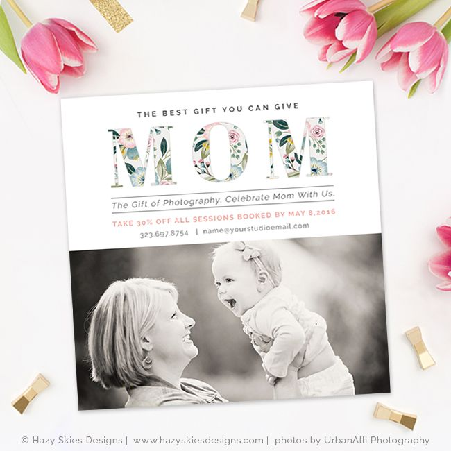 Mothers Day Photography Marketing Template