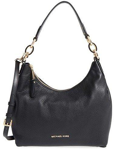 Michael Kors 'Medium Isabella' Convertible Leather Shoulder Bag