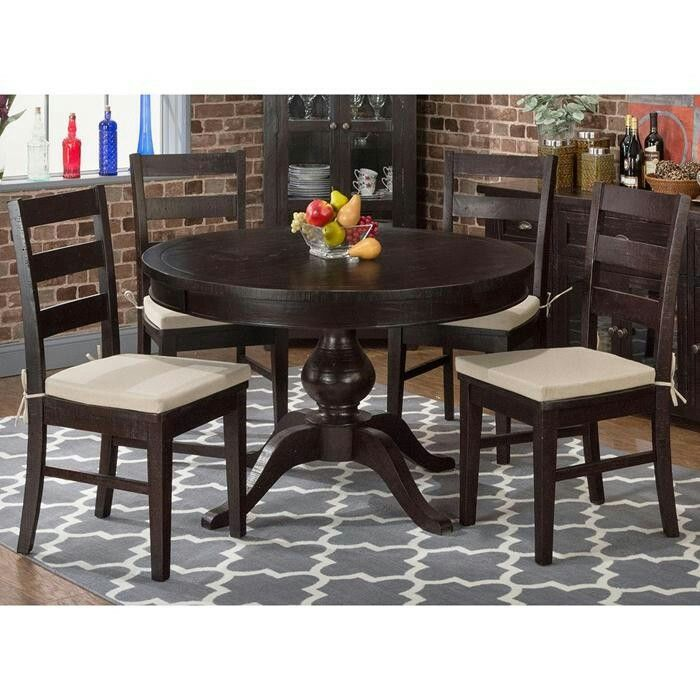 Shop For The Jofran Prospect Creek Pine Round To Oval Pedestal Dining Table At VanDrie Home Furnishings