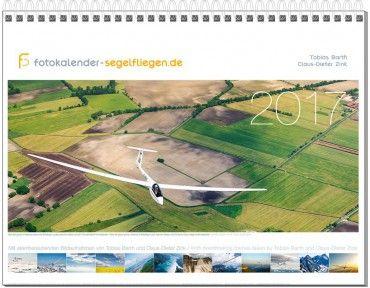 Wandkalender DIN A3, Fotokalender Segelfliegen 2017 – Bild 1