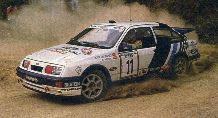 San Remo 1988 Sainz Carlos Moya Luis icon Ford Sierra