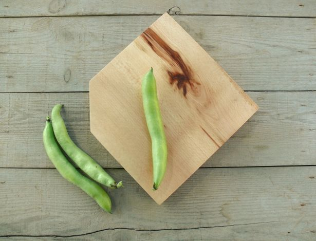 Simple Handmade Beech Wood Cutting Board by Bianca and Sons on Gourmly