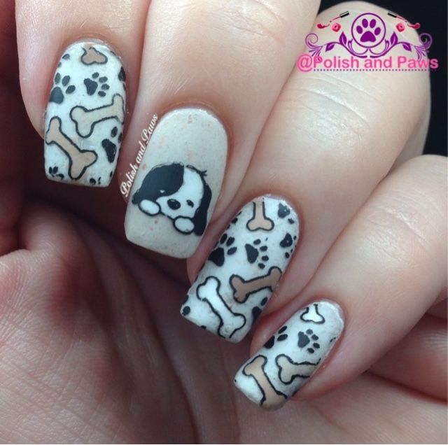 Polish and Paws: Nail Art ~ Born Pretty Store Plate #025