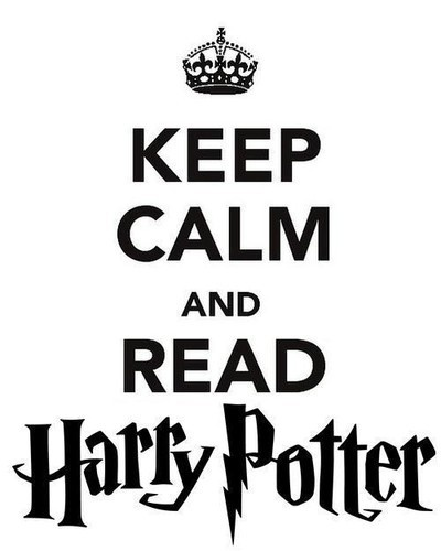 This one doesn't work because what if you have finished reading harry potter?