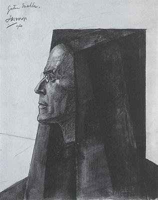 Jan Toorop, Gustav Mahler.