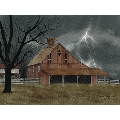 Dark and Stormy Night Poster Print by Billy Jacobs (24 x 18) - Item # PENBJ1113A