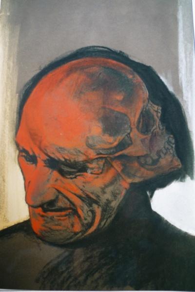Antonin Artaud, by Frederic Beauvais