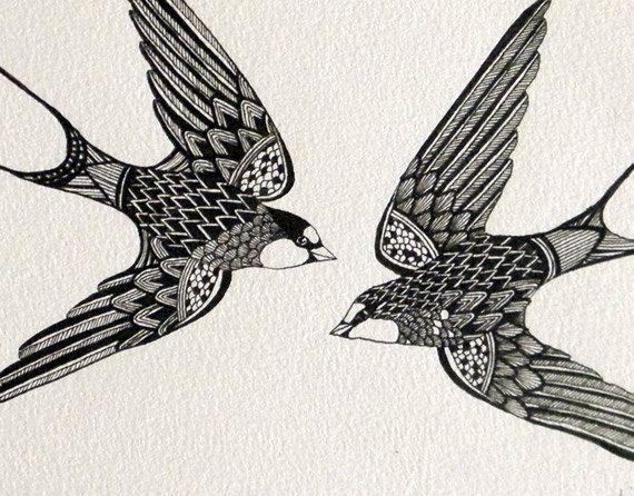 swift tattoo bird - Google Search