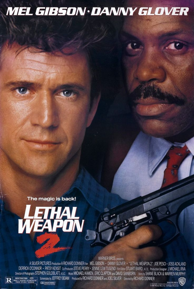 genre: action, crime             Lethal Weapon 2 is a continuation of the adventures of Martin Riggs (Mel Gibson) and Roger Murtaugh (Danny ...