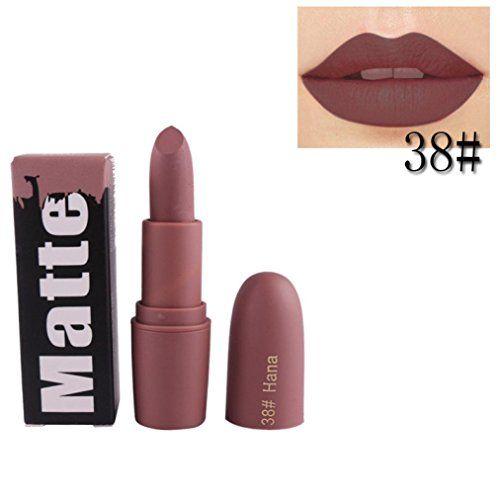Cosmetics USA - Gillberry Waterproof Matte liquid lipstick Long Lasting lip gloss Lipstick (h)