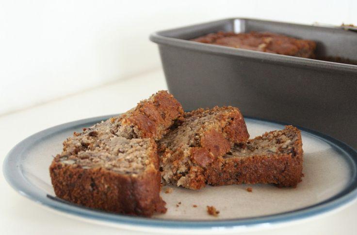 banana bread- gluten, diary & sugar-free