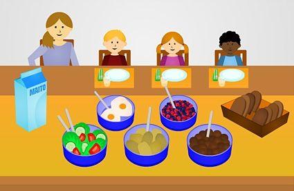 Ruokatiedon laatu- ja muistikorttipelejä