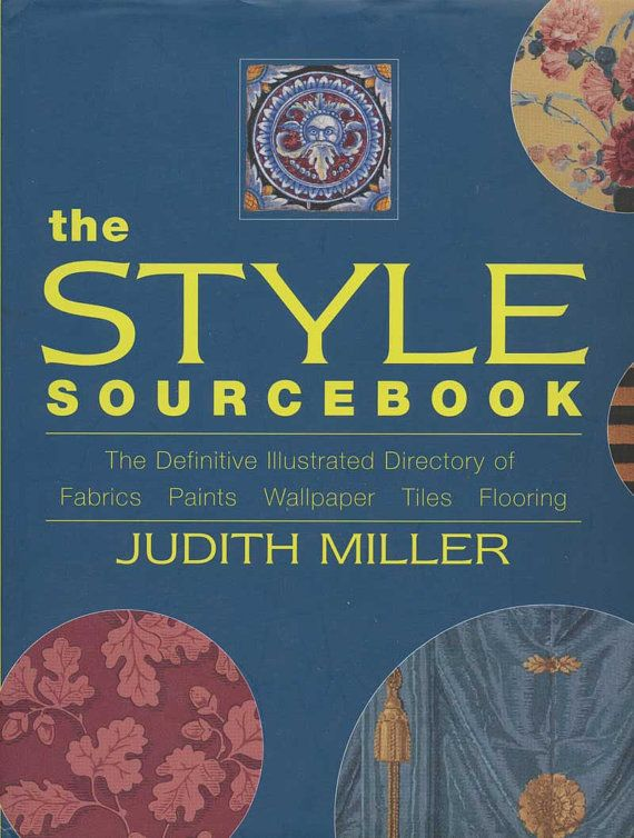 Judith Miller The Style Source Book Illustrated By Autumnelan
