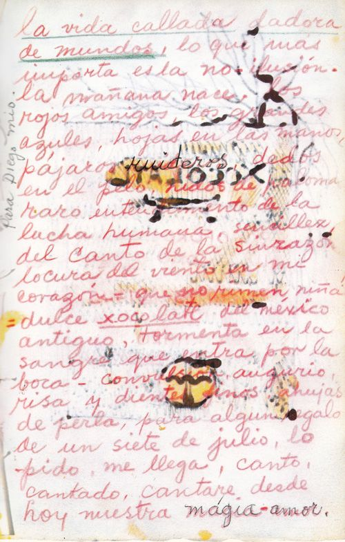 72 best cartas frida kahlo y diego rivera images on Pinterest - free love letters for her