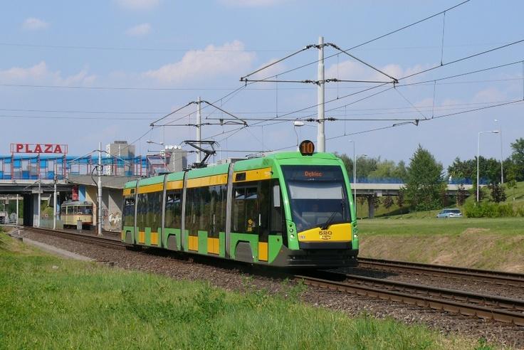 Najnowsze tramwaje w Poznaniu, Solaris Tramino S105p #520 - #Poznan, #tramwaj, #tram