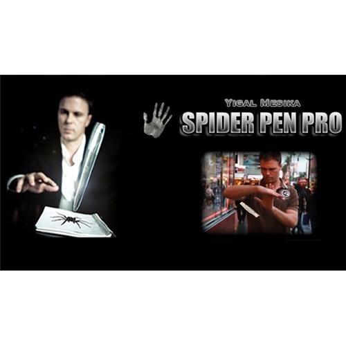 Spider Pen Pro Yigal Mesika : Fazla söze gerek yok Yigal Mesika'nın İTR ve Tarantula'dan sonra en gelişmiş ürünü. Video izlediğinizde ürünün ne kadar etkili olduğunu anlayacaksınız.  Hayal gücünüz sayesinde çok çok farklı oyunlar türetebileceğiniz müthiş bir ürün.