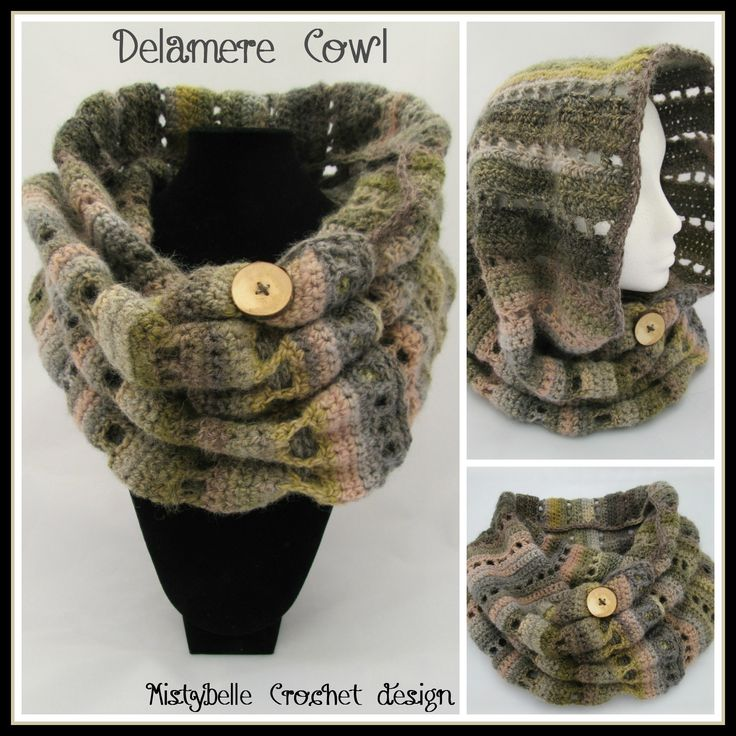 crochet patterns for cowls | Delamere Cowl – Free Pattern
