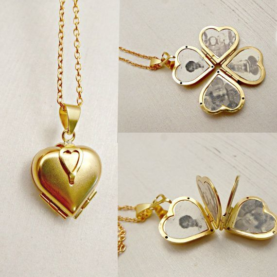 Family Tree Vintage Lucky Clover Heart 4 Photo by …