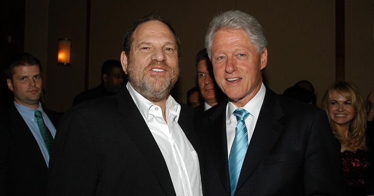 Weinstein Funded Bill Clinton Legal Defense Amid Lewinsky, Paula Jones Scandals. They appear to be very chummy. Maybe b/c they have alot in common?