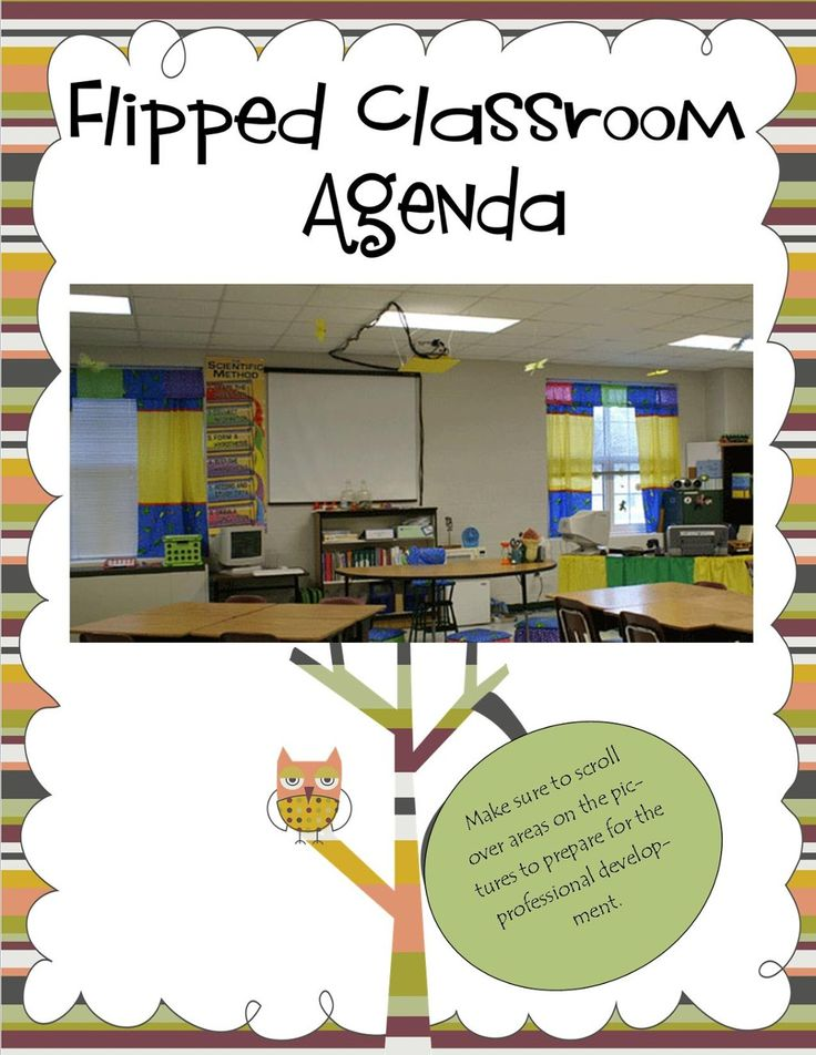 TOUCH this image: What does a Flipped Classroom Look Like Agenda by kimberly