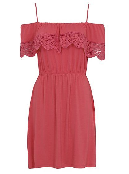 Cold Shoulder Sun Dress, read reviews and buy online at George at ASDA. Shop from our latest range in Women. Pop in your holiday suitcase or wear for a lovel...