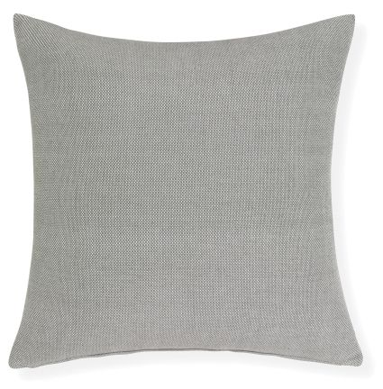 Interior Secrets Batch Cushion - coal 100%cotton 50x50