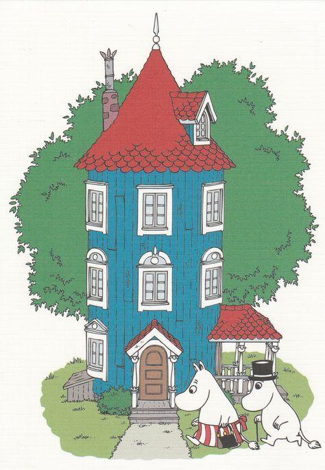 Moomin - The house