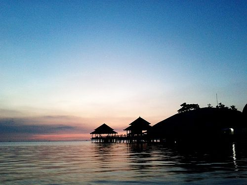 Maldives? No. Jepara, Indonesia.