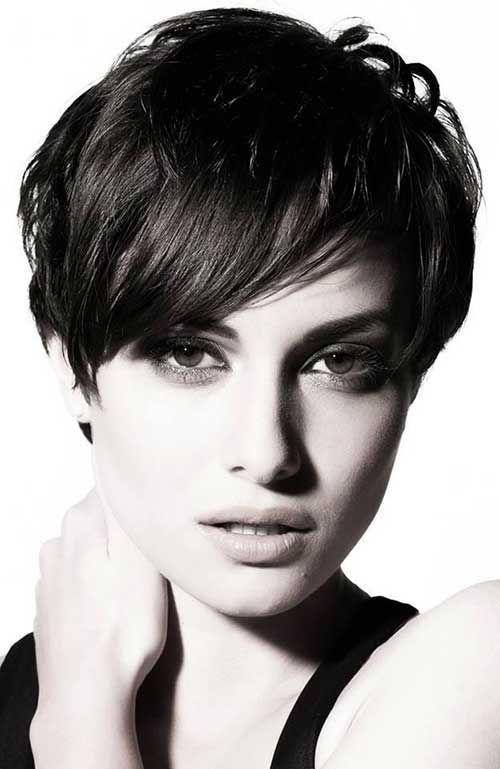 Best Hairstyle Thinning Hair Women Pixie Hairstyles Messy Short