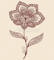 paisley flower tattoos - Google Search