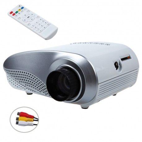 """Projecteur led HDMI - Jusqu'à 100 pouces d""""images. PRIX: CAD $119.95  http://androidqc.com/shop/fr/nouveautes/31-projecteur-led-hdmi-jusqu-a-100-pouces-dimages.html"""
