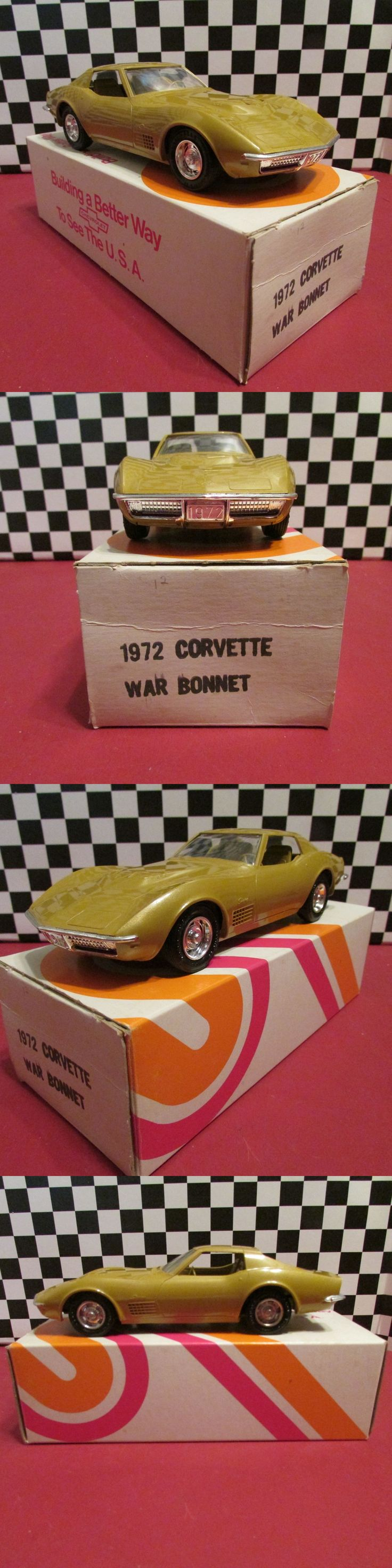 Fantastic free standing tree fort 401425 home design ideas - Promo 2592 1972 Chevrolet Corvette 1 25 Scale Dealership Promotional Model War