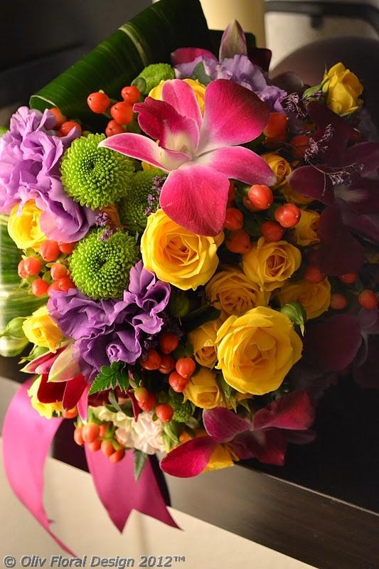 Oliv Floral Design: septembrie 2012