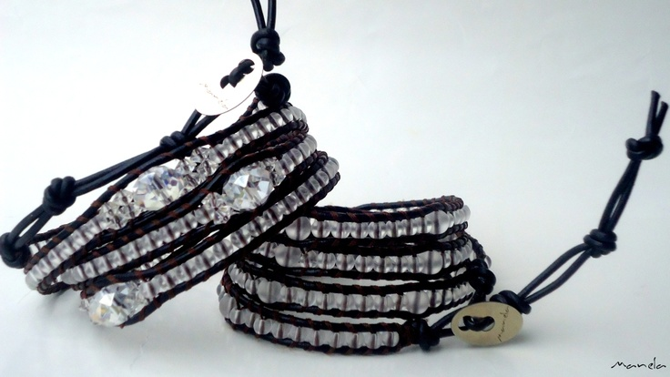 Manela Collection 'Frozen Beads & Crystals' 01-02