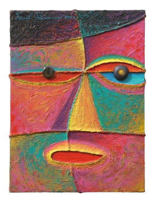 Wonderful Face Cubism from $47.99   www.wallartprints.com.au #CubismArt