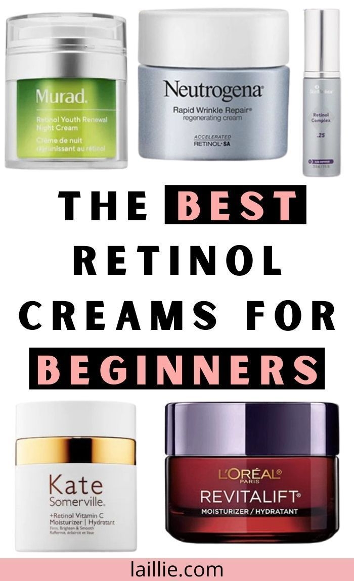 The Best Retinol Cream For Beginners And 4 More In 2020 Skin Care Acne Acne Help Best Retinol Cream