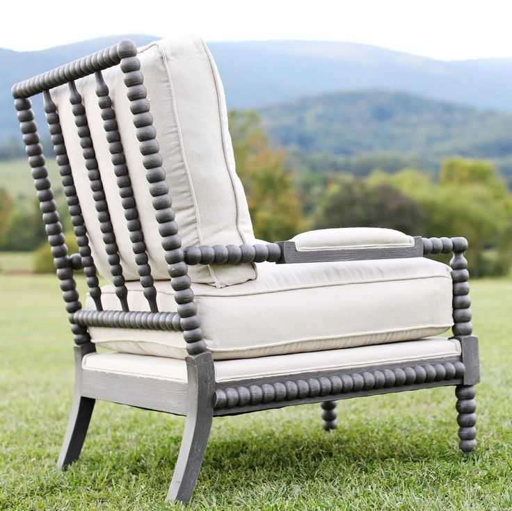 Spool Chairs Linen & Down - I adore this chair - have always wanted a pair! First choice.