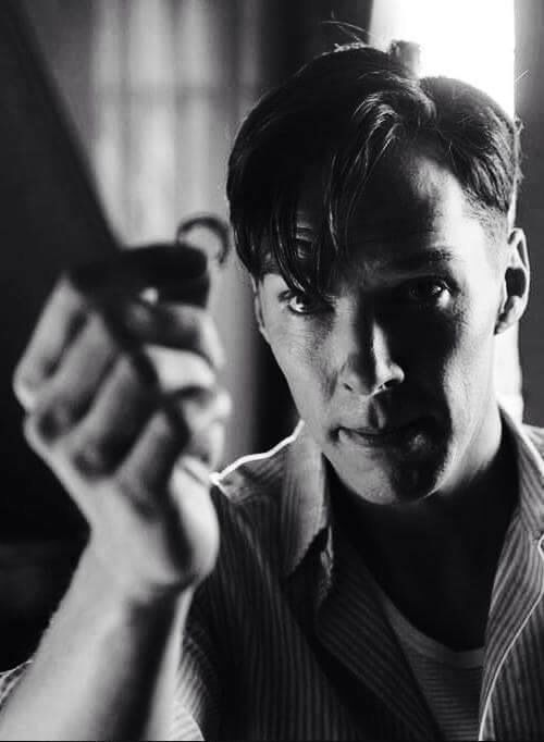 ".. Joan Elizabeth Clarke Will you marry me? .. As Alan Turing in ""The Imitation Game"" .."
