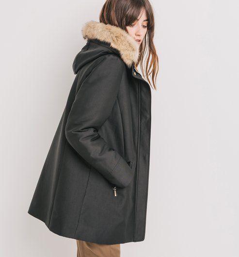 1000 id es sur le th me manteau capuche femme sur. Black Bedroom Furniture Sets. Home Design Ideas