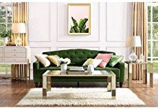 After the popularity of our blue velvet sofa round-up, I thought I'd put together a nice moodboard of green velvet sofas for the home. Green is likely going to be a popular hue this year after Pantone chose Greenery as the color of the year. This earthy tone pairs especially well with brown, another natural color, and looks amazing next …