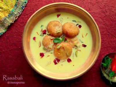 Annapurna: Rasabali / Sweet Odia Recipe