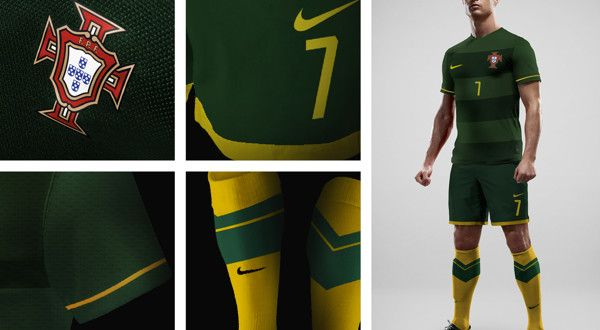 New Football Kit of Portugal for FIFA World Cup 2014 is revealed. Check out the cool kit of Portugal National Football Team