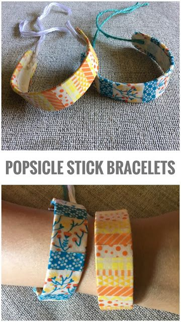 how to make popsicle stick jewelry