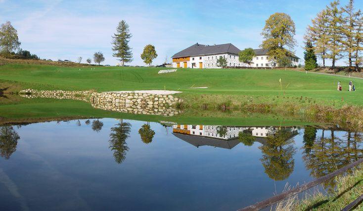 Oberösterreichs attraktivster #Golfplatz nahe Linz inmitten der idyllischen Mühlviertler #Naturlandschaft.