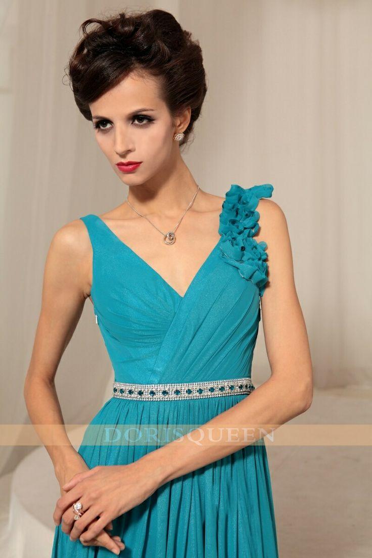 Obt dark color formal dress