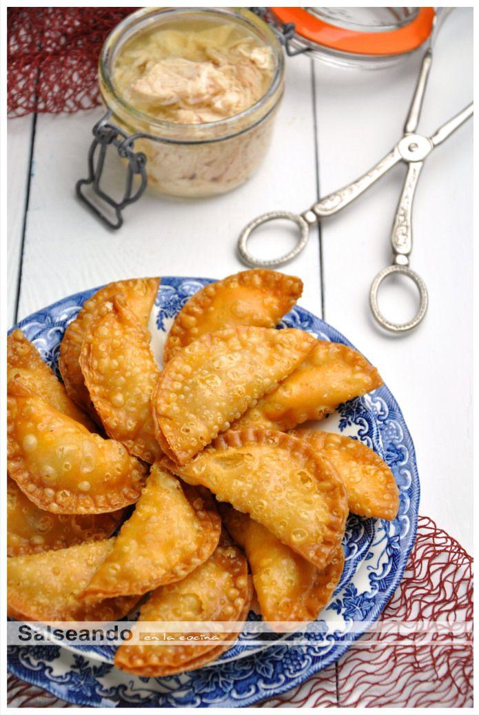 Salseando en la cocina: Mini empanadillas caseras de bonito del norte