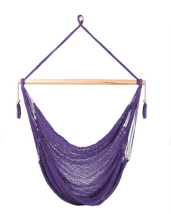 Purple Hammock Chair