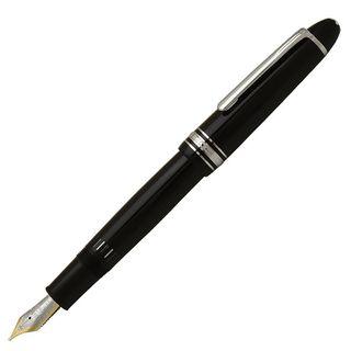 MONTBLANC 万年筆 モンブラン 万年筆・ボールペン・ローラーボール・ペンシル 筆記具 マイスターシュテュック プラチナライン ル・グラン P146 ブラック