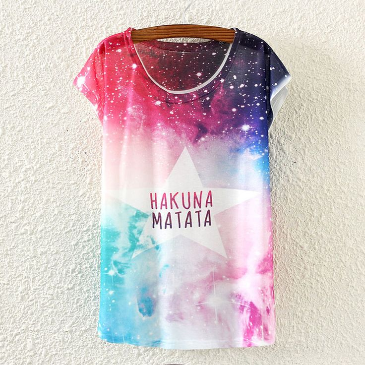 2015 Newest Galaxy Space Printed Creative T Shirt 3D Women's Tshirt Summer Novelty 3D Camiseta Feminina Women Tees Shirt Clohes-in T-Shirts from Women's Clothing & Accessories on Aliexpress.com | Alibaba Group