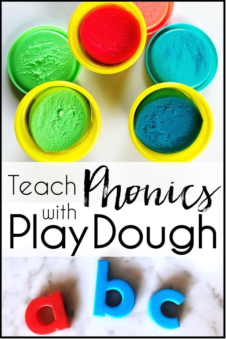 Use Playdough to Teach Phonics | Primary Teaching Resources and